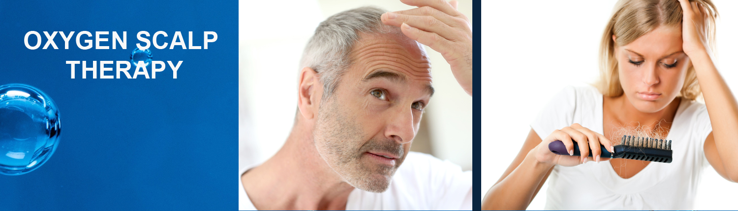 Oxygen Scalp Therapy